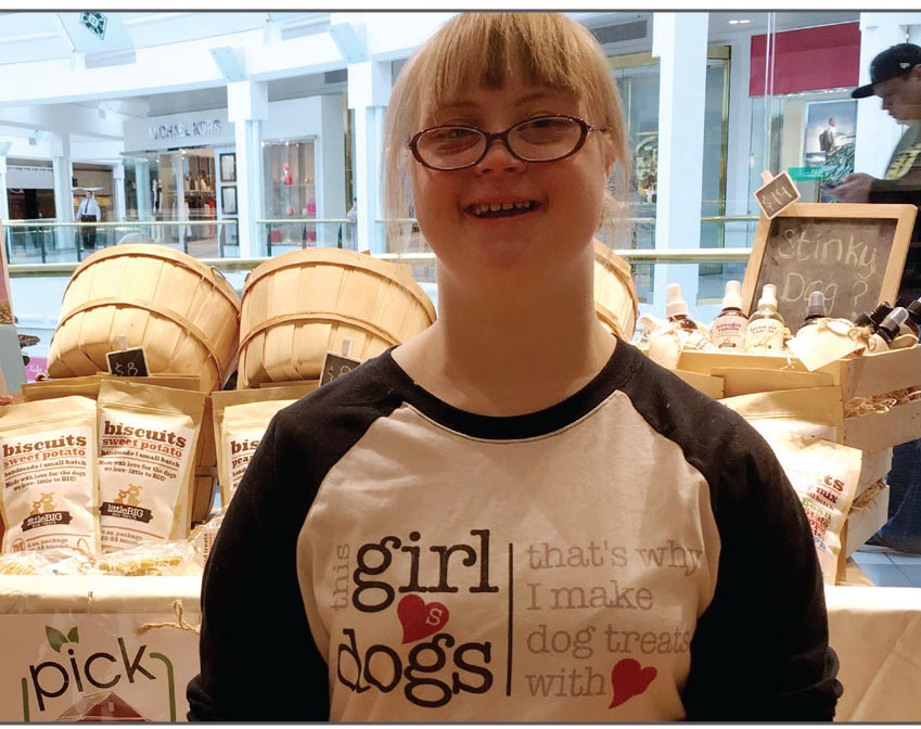 Cailyn Wheaton - Owner LittleBig Dog Treats